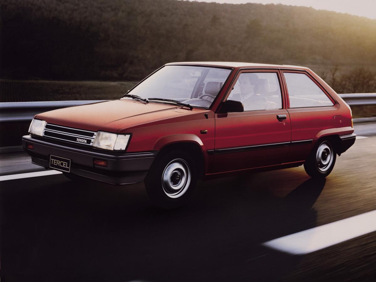 Toyota Tercel L L on 1982 Toyota Tercel Engine